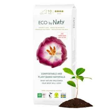 Eco by Naty Dámské mateřské vložky po porodu 10 ks