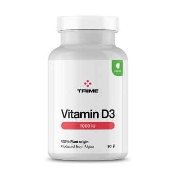 Trime Vitamín D3, kapsle 90 ks, 21 g