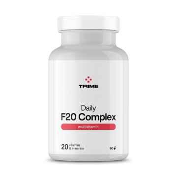 Trime Multivitamín, Daily F20 Complex, kapsle 90 ks, 54,5 g