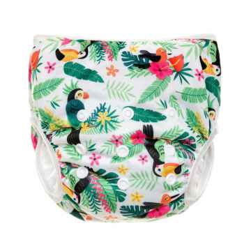 T-TOMI Plenkové plavky Parrots 1 ks