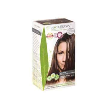 NATURIGIN Barva na vlasy Light Chocolate Brown 5.0, Poškozeno 1 ks