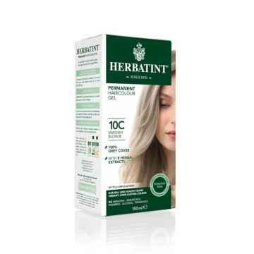 HERBATINT Permanentní barva na vlasy švédská blond 10C, Poškozeno 150 ml