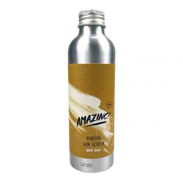 AMAZINC! Minerální opalovací mléko SPF 30 150 ml