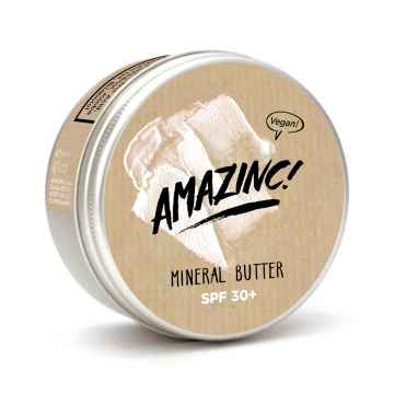 AMAZINC! Minerální tělové máslo SPF 30 75 ml