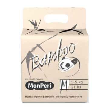 MonPeri Bamboo EKO 1 ks, vel. M / 5-9 kg