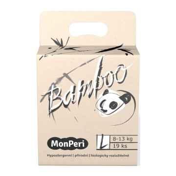 MonPeri Bamboo EKO 1 ks, vel. L / 8-13 kg