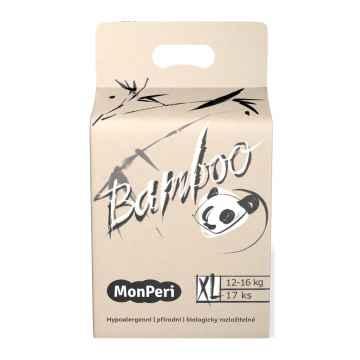 MonPeri Bamboo EKO 1 ks, vel. XL/ 12-16 kg