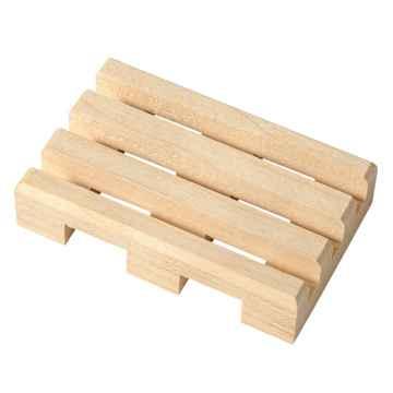 Dřevěná mýdlenka 1 ks