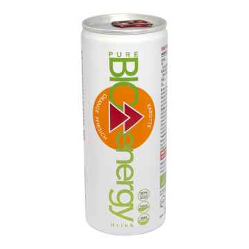 pure BIO Energy drink pomeranč 250 ml