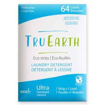 Tru Earth Eko prací pásky Fresh Linen 64 ks