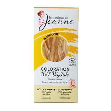 Les couleurs de Jeanne Barva na vlasy zlatá blond 2 x 50 g