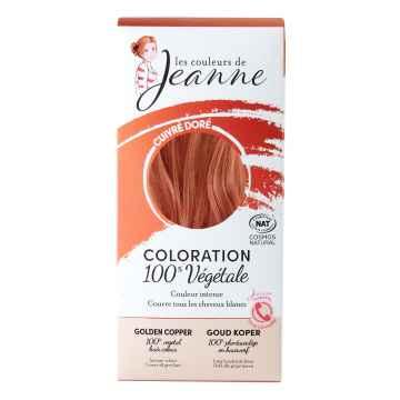Les couleurs de Jeanne Barva na vlasy měděná zlatá 2 x 50 g