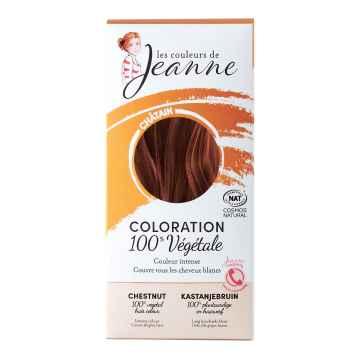 Les couleurs de Jeanne Barva na vlasy kaštanová 2 x 50 g