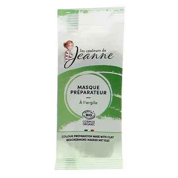 Les couleurs de Jeanne Maska na vlasy před barvením vlasů s jílem 8 g