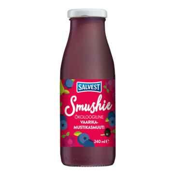 Salvest Smushie BIO Ovocné smoothie s borůvkami, malinami a černým rybízem 240 ml