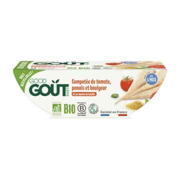 Good Gout BIO Rajčátka s pastinákem a bulgurem 2 x 190 g