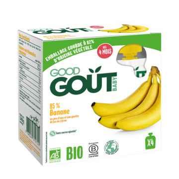 Good Gout BIO Banán 4 x 85 g