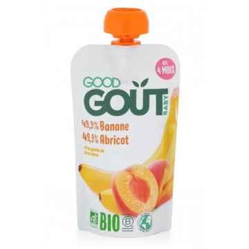 Good Gout BIO Meruňka s banánem 120 g