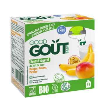Good Gout BIO Kokosový dezert s exotickým ovocem 4 x 85 g