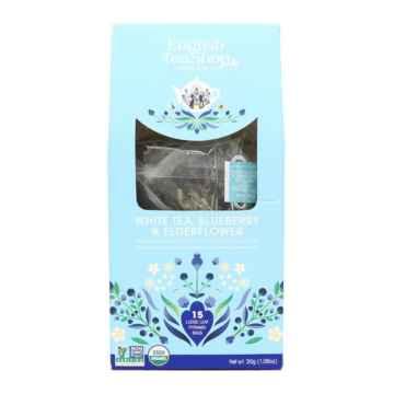 English Tea Shop BIO bílý čaj borůvka a bezinka 45 g, 15 ks