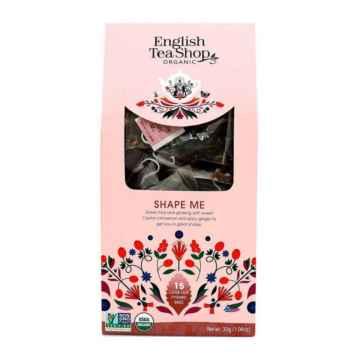 English Tea Shop Wellness BIO bylinný čaj Tvaruj mě 30 g, 15 ks