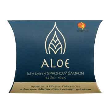 Tuhý bylinný sprchový šampon na tělo i vlasy ALOE 95 g