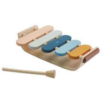 PLAN TOYS Oválný xylofón Orchard 1 ks