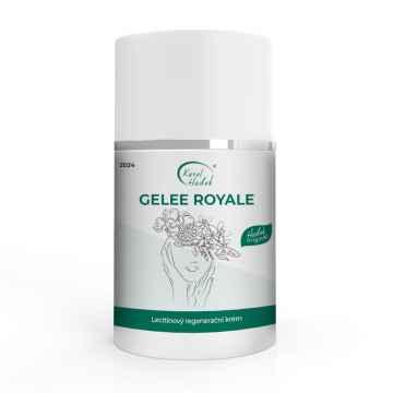 Aromaterapie Karel Hadek GELEE ROYALE Regenerační krém s mateří kašičkou 50 ml