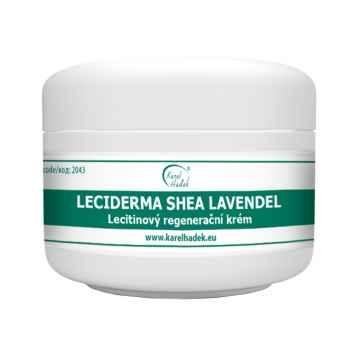 Aromaterapie Karel Hadek LECIDERMA SHEA LAVENDEL Lecitinový regenerační krém 100 ml