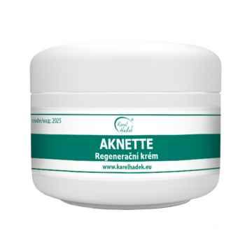 Aromaterapie Karel Hadek AKNETTE Regenerační krém 50 ml