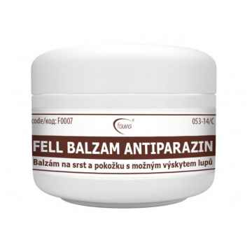 Aromaterapie Fauna FELL ANTIPARAZIN balzám na srst a pokožku 100 ml