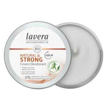Lavera Krémový deodorant Strong pro ochranu až 48 hodin 50 ml