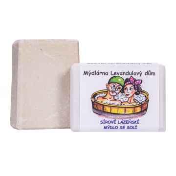 Mýdlárna Levandulový dům Sírové lázeňské mýdlo se solí 120 g