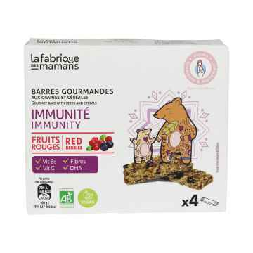 La fabrique des mamans Cereální tyčinka Multipack IMMUNITY BIO 4 x 36 g