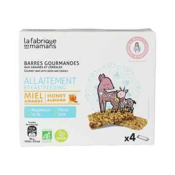 La fabrique des mamans Cereální tyčinka Multipack BREAST FEEDING BIO 4 x 36 g