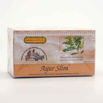 Siddhalepa Ayur Slim, ajuvérdský bylinný čaj, Exspirace 5.8.2021 40 g, 20 ks