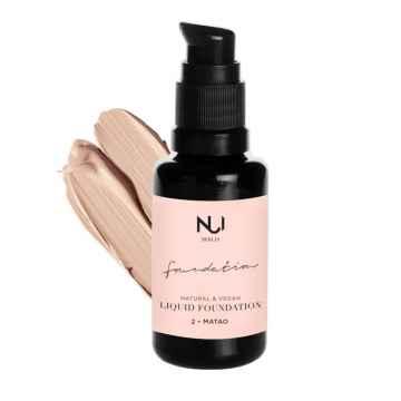 NUI Cosmetics Přírodní tekutý make-up MATAO 30 ml