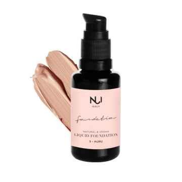 NUI Cosmetics Přírodní tekutý make-up PURU 30 ml