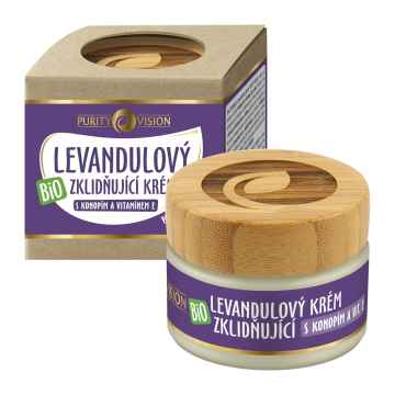 Purity Vision Bio Levandulový krém zklidňující 40 ml