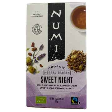 Numi Organic Tea Čaj Sweet Night 32 g, 16 ks