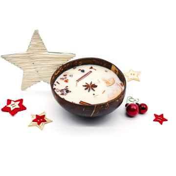 TROPIKALIA Veganská svíčka v kokosu christmas spice 350 ml