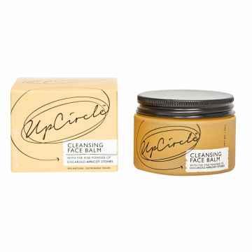 UpCircle Beauty Čisticí balzám na obličej s meruňkovým práškem 50 ml