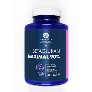 Renovality Betaglukan 90% Maximal s vit. C 90 ks