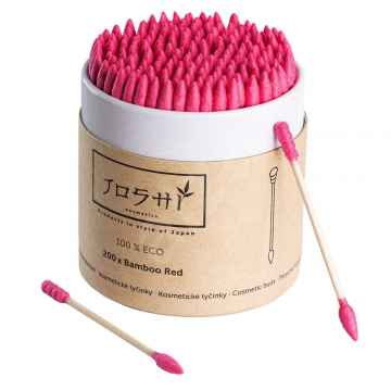 Joshi Cosmetics Bamboo red 200 ks