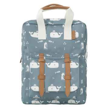 FRESK Dětský batoh Whale Blue Fog 1 ks