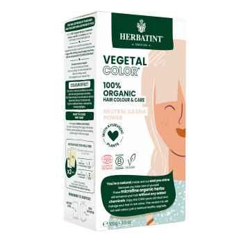 HERBATINT VEGETAL COLOUR Bio rostlinná barva na vlasy NEUTRAL CASSIA POWER 100 g