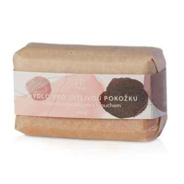 POETIKO Mýdlo pro citlivou pokožku s mandlovým olejem a lopuchem 100 g