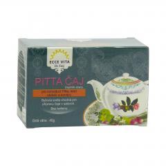 Ecce Vita Pitta čaj, pro letní období a kondici 40 g, 20 ks