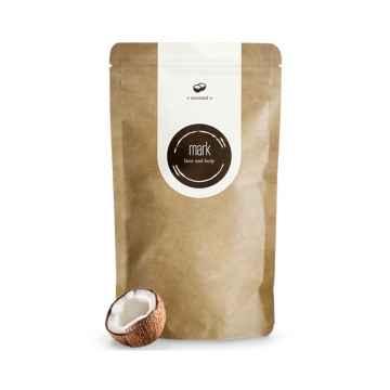 MARK face and body Přírodní kávový peeling MARK Coffee Coconut, Poškozeno (lehce protrhlý pytlík) 100 g