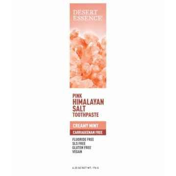 Desert Essence Zubní pasta s růžovou himálajskou solí a tea tree 176 g